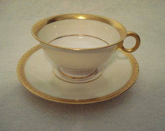 Theodore Haviland Cup and Saucer