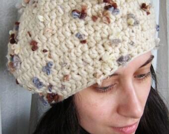 Handmade crochet beret