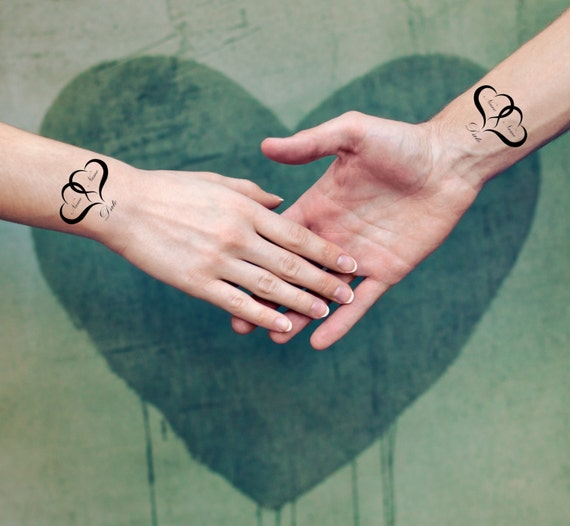 Nome nozze data matrimonio temporaneo tatuaggi somaarttattoo for Asso di cuori tattoo