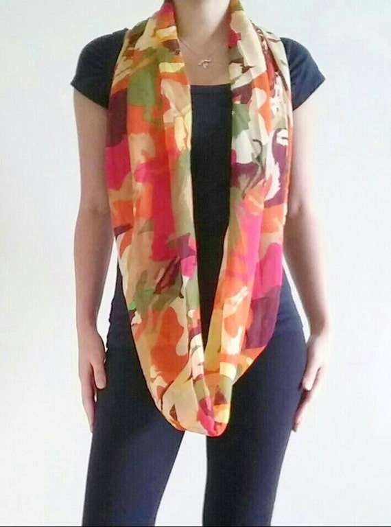 colorful scarf infinity scarf infinity by