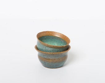 Tiny ceramic serving bowl