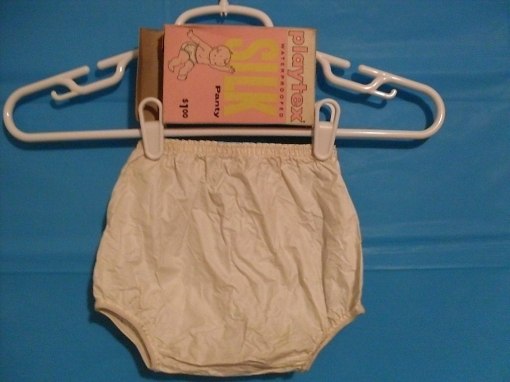Vintage Plastic Baby Pants 1950 S Playtex Silk Waterproof