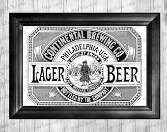 Beer label template | Etsy