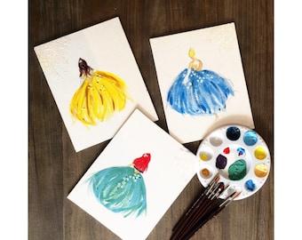 Simple Disney Princess Painting