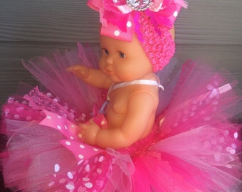 Pink Baby Girl Minnie Mouse Tutu