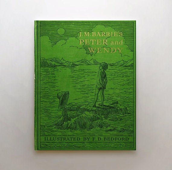 Book Cover Art Canvas ~ Peter pan canvas art gifts for by