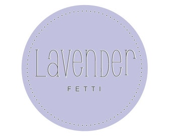LAVENDER Wedding Toss, Something Blue, Wedding Confetti, Ecofriendly Wedding, Biodegradable Confetti, LAVENDERfetti™, Wedding Favor