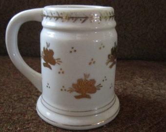 Vintage Mug, Mug with Hole, Vintage Vase, Vase With Hole, Vintage Vase Number, Vintage Mug Number