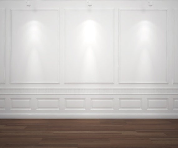 White Wall Backdrop Vinyl Photography Backdrops By HuaBackdrop