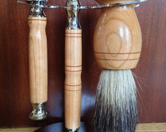 Modern Three pcs. Gentleman's Shaving Set