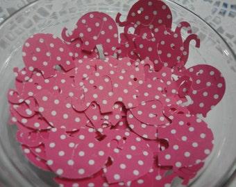 Elephant  Die Cuts Punch Cutouts Embellishments Confetti