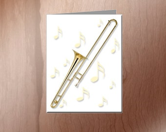 Trombone Note Cards