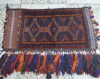 Vintage Tribal Nomad Afghan Cushion Cover