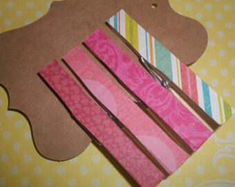 4 Clothespins Spring Collection