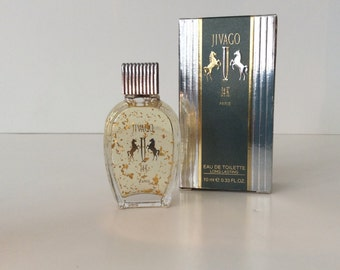 """Perfume mini Men's """"Jivago 24"""" with 24 k gold flakes 10 ml.made in France"""