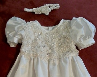 Custom Christening Gown from Your Wedding Dress