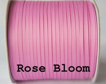 10 yards,3mm grosgrain ribbon,1/8'' ribbon,solid Rose Bloom Ribbon,Supplies Ribbon
