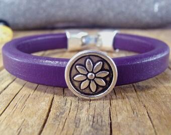 Women bracelet, Bracelet for women, Leather bracelet, Licorice leather bracelet, Men leather bracelet, Women leather bracelet,