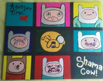 Adventure Time Painting!