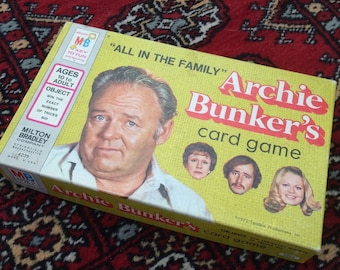 All in the Family - Archie Bunker's Card Game 1972