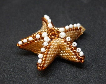 Beaded 3-dimensional Starfish