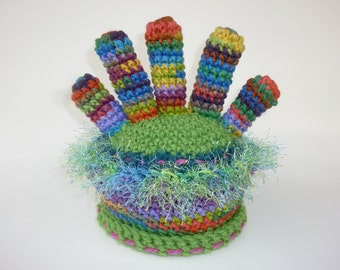 "Colorful ""Fingers"" Hat for a Child"