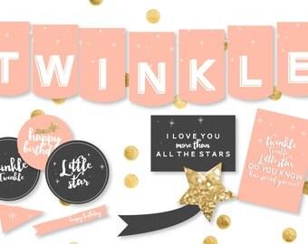 Twinkle Twinkle Little Star Party Decor