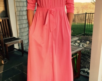 Vintage Evelyn Pearson Lounging Apparel Dress