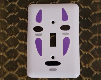 No Face, spirited away light switch cover