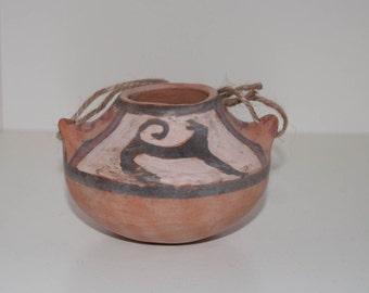 Decorative Vase, Cucuteni Clay Vase, Decorative Ceramic Vase, Home Decor, Hand Painted Vase, Hand Painted Ceramic Vase, Ceramics and pottery