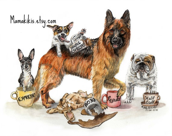 Can Dogs Drink Coffie
