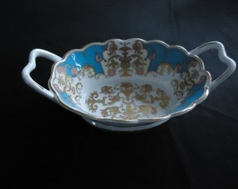 English porcelain dish 50 years Queen elizabeth