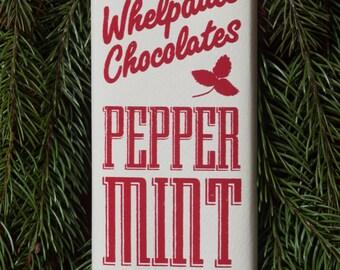 BULK Vegan Peppermint White Chocolate Bars [12 ct.]
