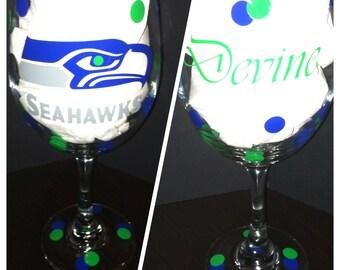 Personalized Wine Glass 20oz