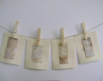 Birchbark Card