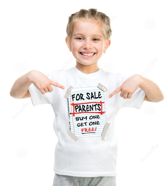 For sale parents buy one get one free t shirt by for Buy 1 get 1 free shirts