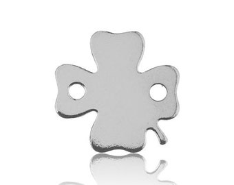 Connector Clover Sterling Silver 925