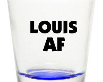 One Direction Louis Tomlinson Louis AF Shot Glass