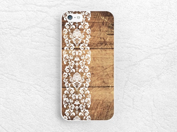 floral Wood print Phone Case for iPhone, Sony z1 z3 compact, LG g3 g2 ...