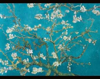 Vincent Van Gogh -Almond Blossom 11x14 - Framed