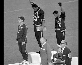 """Mexico City Olympics 1968 - """"Black Power"""""""