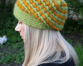 Beanie hat, Knitted hat, women's knit