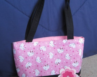 Pink Hello Kitty Tote Bag
