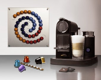 Popular items for wall dispenser on etsy - Support mural capsules nespresso ...