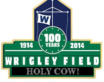 "Chicago Cubs 100 Years Wrigley Field Scoreboard ""Holy Cow"" 3"" x 4"" Fridge Magnet"