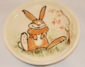 Happy Bunny plate