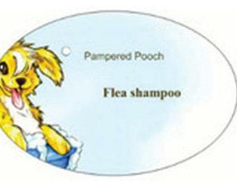 Organic, vegan Pampered pooch flea shampoo