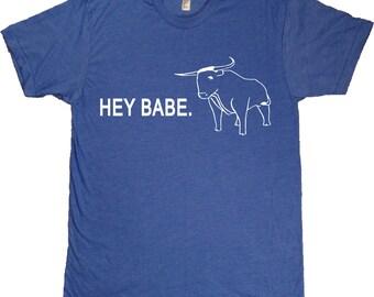 Hey Babe. Paul Bunyan / Babe the Blue Ox Minnesota T-Shirt