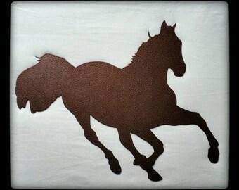 Galloping Horse, Metal Wall Art