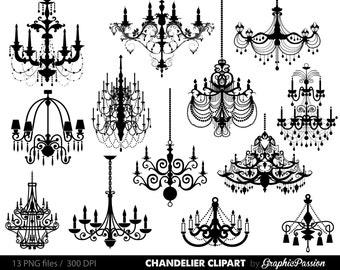 Chandelier clip art etsy chandelier clip art scrapbooking chandelier clipart printable vintage chandelier wedding invitation instant download mozeypictures Choice Image